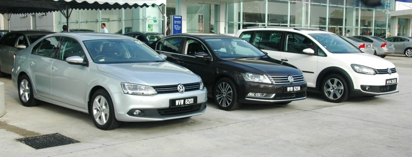 Volkswagen Jetta, Passat and Cross Touran launched – RM150k, RM185k and RM167k respectively, all CBU Image #73557