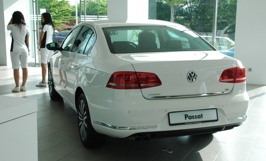 Volkswagen Jetta, Passat and Cross Touran launched – RM150k, RM185k and RM167k respectively, all CBU Image #73559