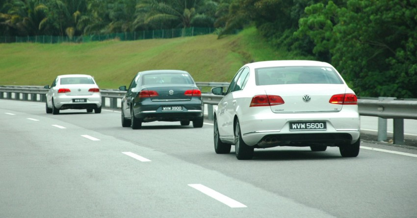 Volkswagen Jetta, Passat and Cross Touran launched – RM150k, RM185k and RM167k respectively, all CBU Image #73614