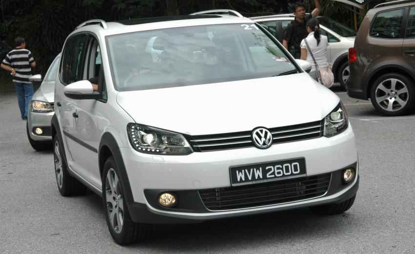 DRIVEN: Volkswagen Cross Touran 1.4 TSI – first drive Image #75575