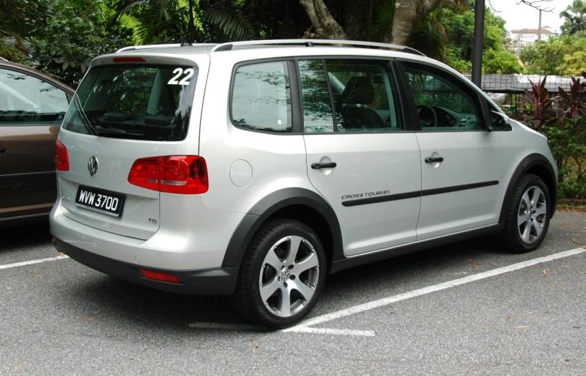DRIVEN: Volkswagen Cross Touran 1.4 TSI – first drive Image #75576
