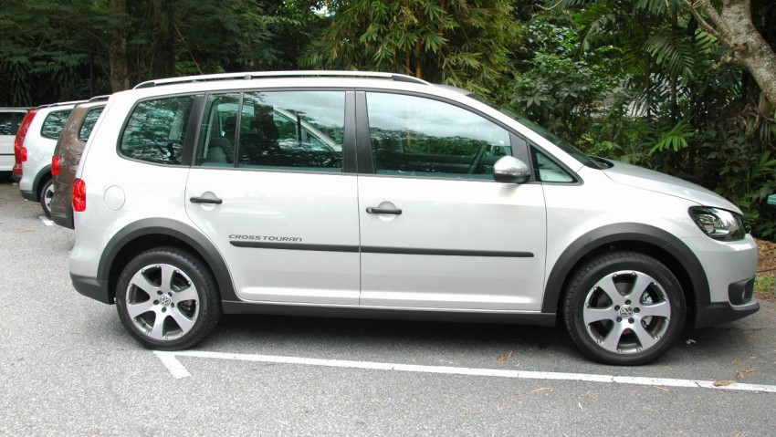 DRIVEN: Volkswagen Cross Touran 1.4 TSI – first drive Image #75577