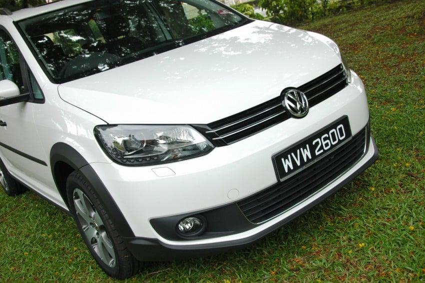 DRIVEN: Volkswagen Cross Touran 1.4 TSI – first drive Image #75578