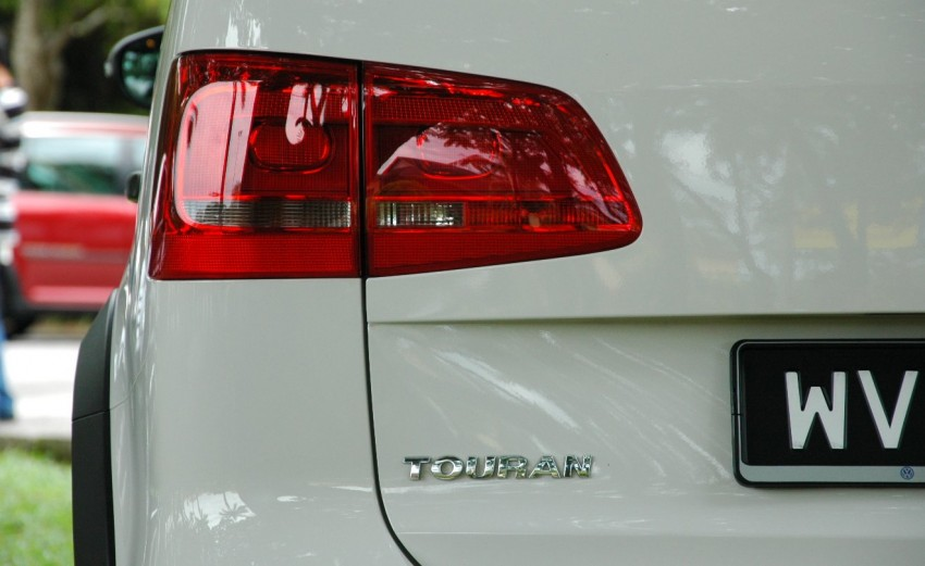 Volkswagen Cross Touran 1.4 TSI – first drive impressions Image #75580