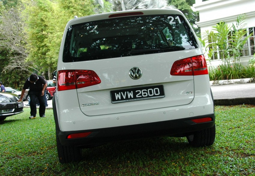 Volkswagen Cross Touran 1.4 TSI – first drive impressions Image #75581