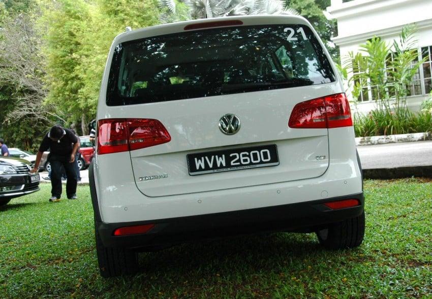 DRIVEN: Volkswagen Cross Touran 1.4 TSI – first drive Image #75581