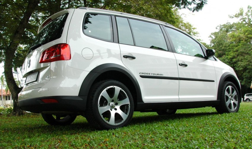 Volkswagen Cross Touran 1.4 TSI – first drive impressions Image #75582