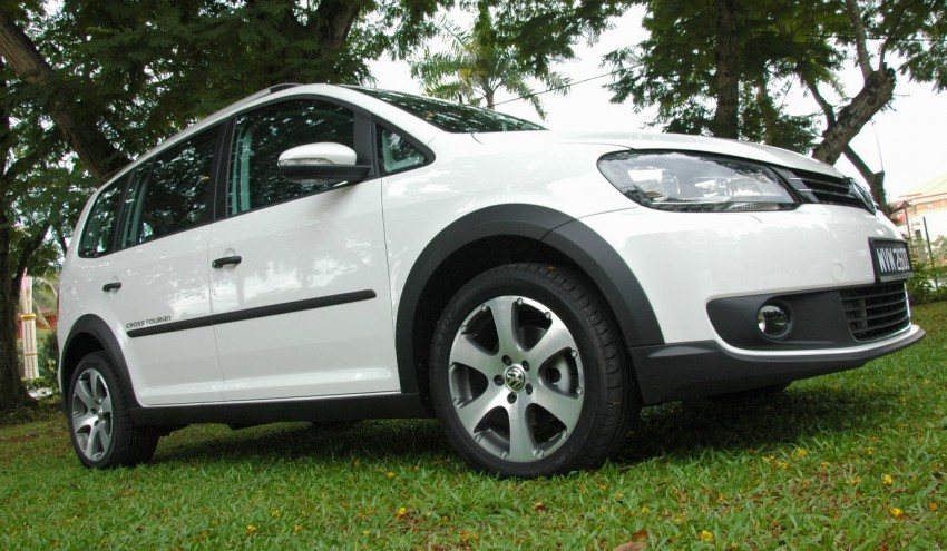 Volkswagen Cross Touran 1.4 TSI – first drive impressions Image #75583