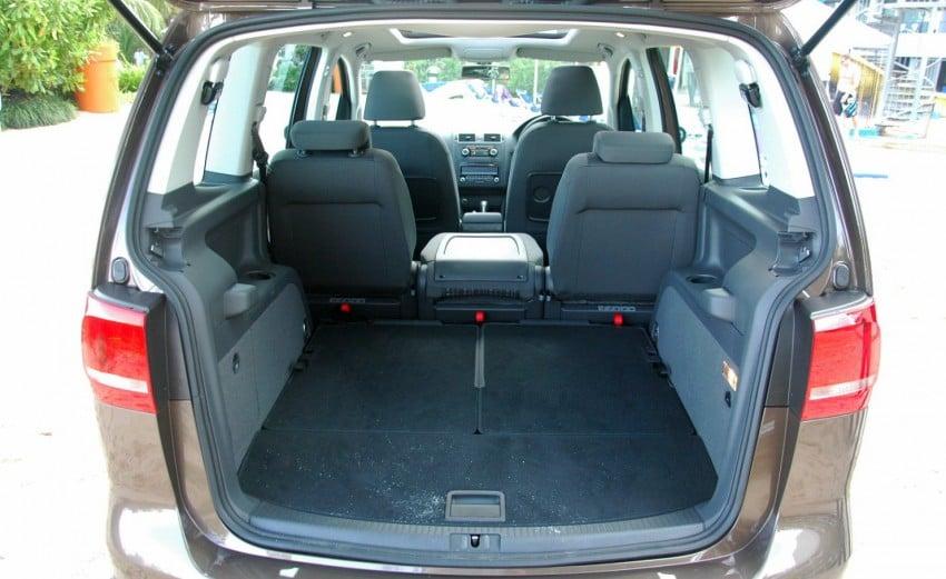 Volkswagen Cross Touran 1.4 TSI – first drive impressions Image #75586