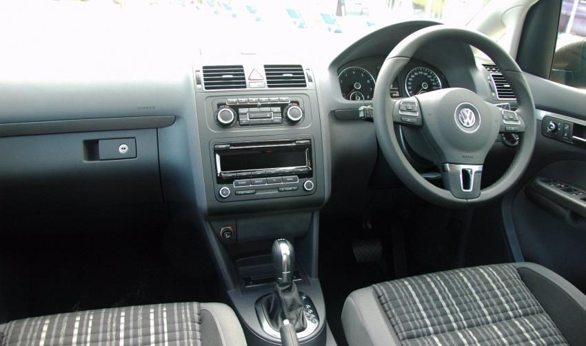 Volkswagen Cross Touran 1.4 TSI – first drive impressions Image #75588