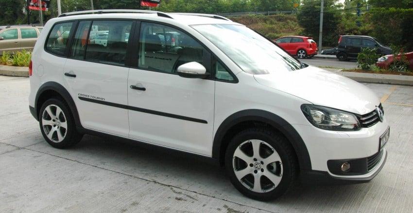 DRIVEN: Volkswagen Cross Touran 1.4 TSI – first drive Image #75589