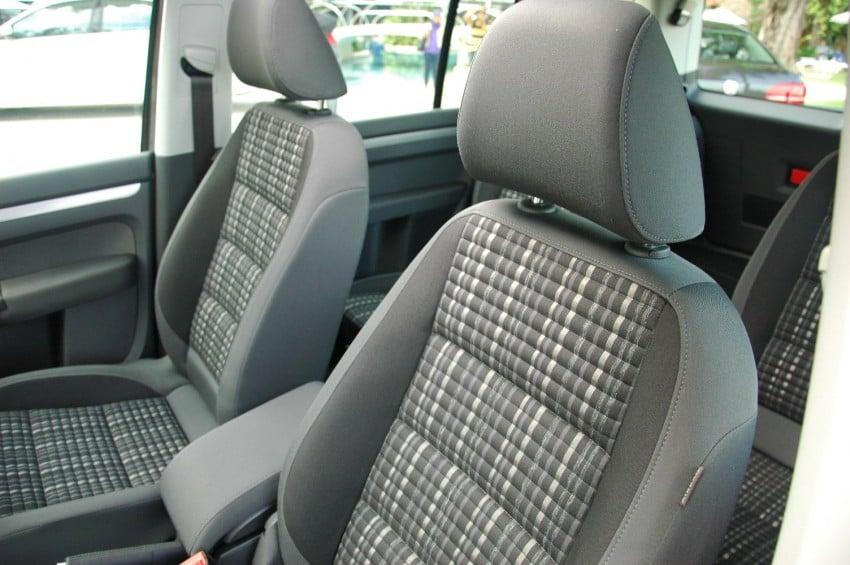 Volkswagen Cross Touran 1.4 TSI – first drive impressions Image #75590