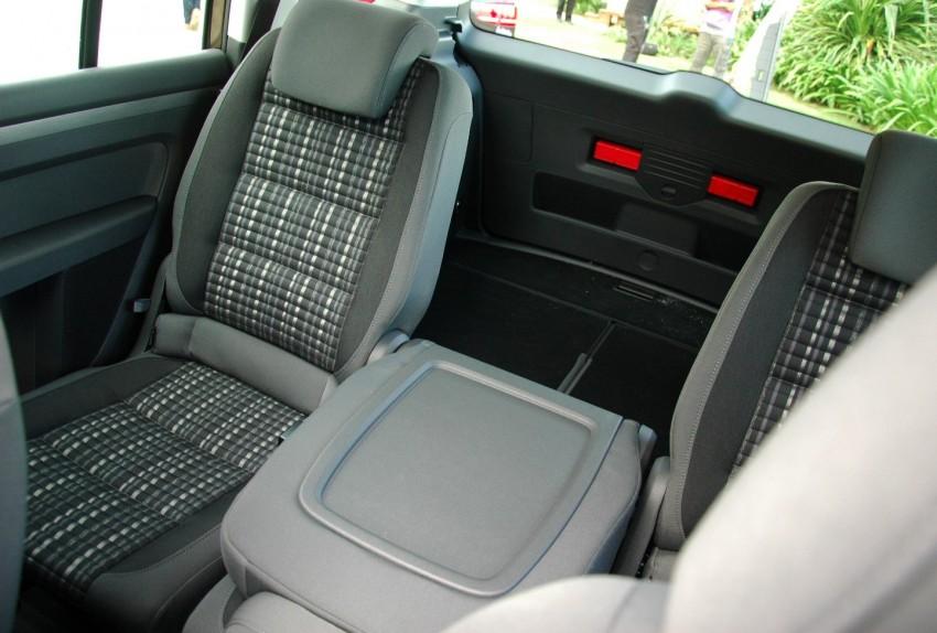 DRIVEN: Volkswagen Cross Touran 1.4 TSI – first drive Image #75593