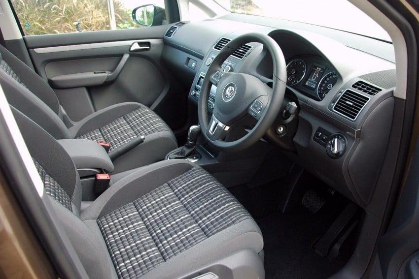 Volkswagen Cross Touran 1.4 TSI – first drive impressions Image #75596