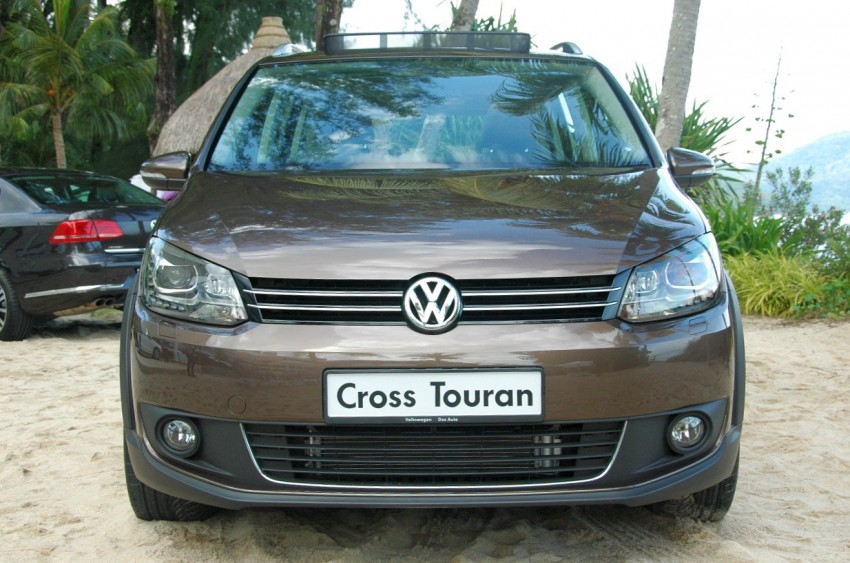 Volkswagen Cross Touran 1.4 TSI – first drive impressions Image #75598
