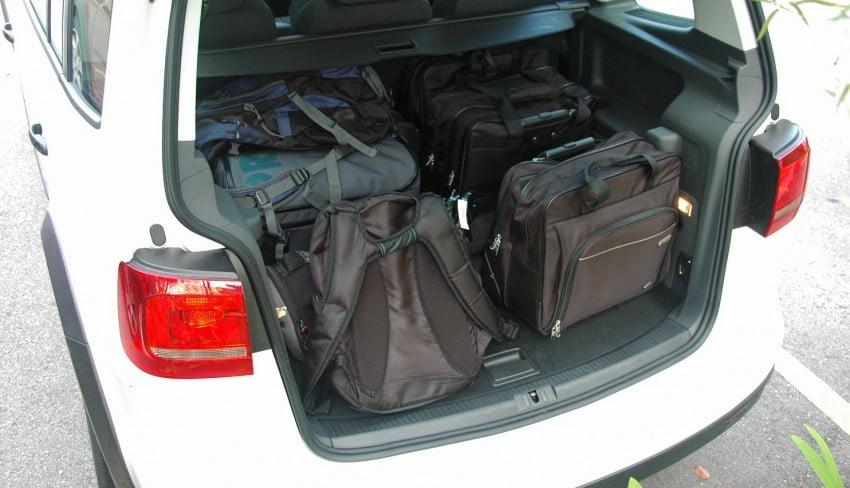 Volkswagen Cross Touran 1.4 TSI – first drive impressions Image #75604