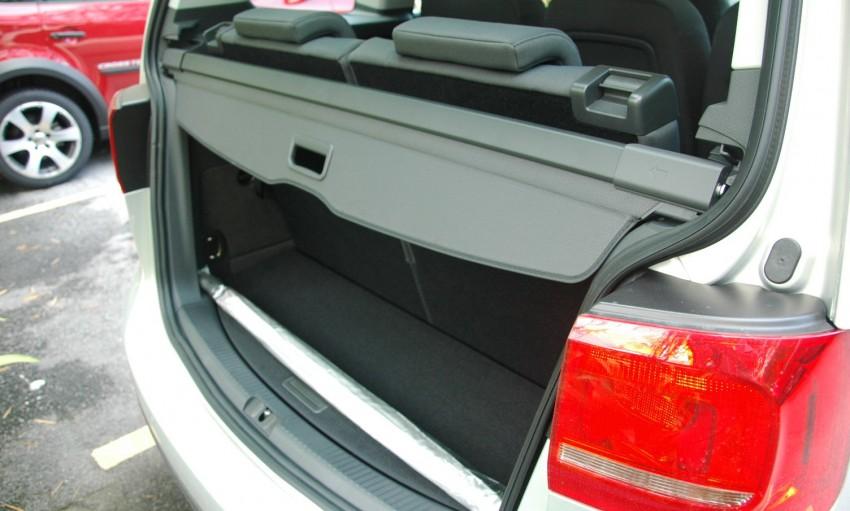 DRIVEN: Volkswagen Cross Touran 1.4 TSI – first drive Image #75605