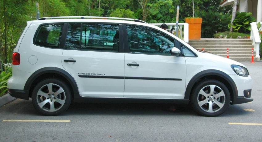 Volkswagen Cross Touran 1.4 TSI – first drive impressions Image #75608