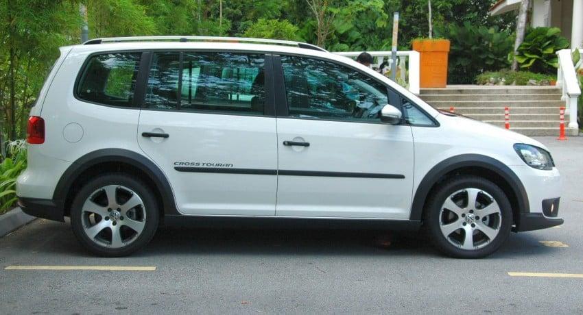 Volkswagen Cross Touran 1.4 TSI – first drive impressions Image #75608