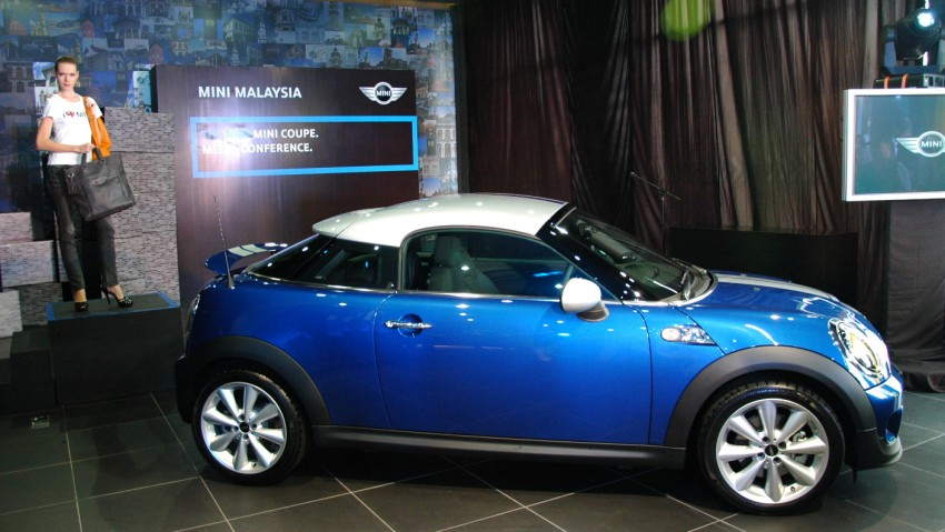 MINI Coupé launched – only in 1.6 Cooper S form, RM250k Image #73726