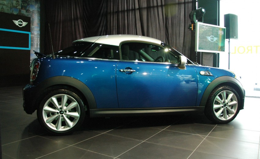 MINI Coupé launched – only in 1.6 Cooper S form, RM250k Image #73727