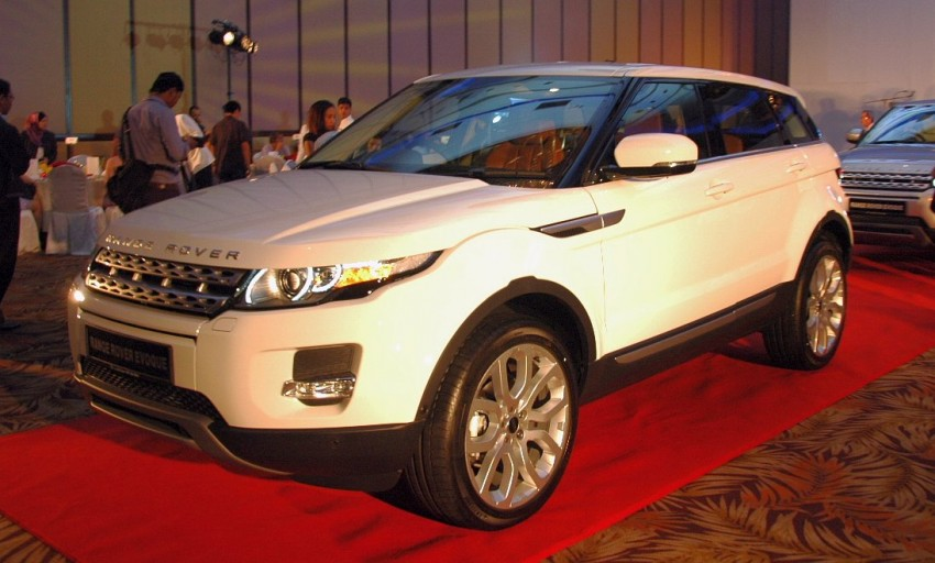 Range Rover Evoque launched – RM353k to RM393k Image #75345