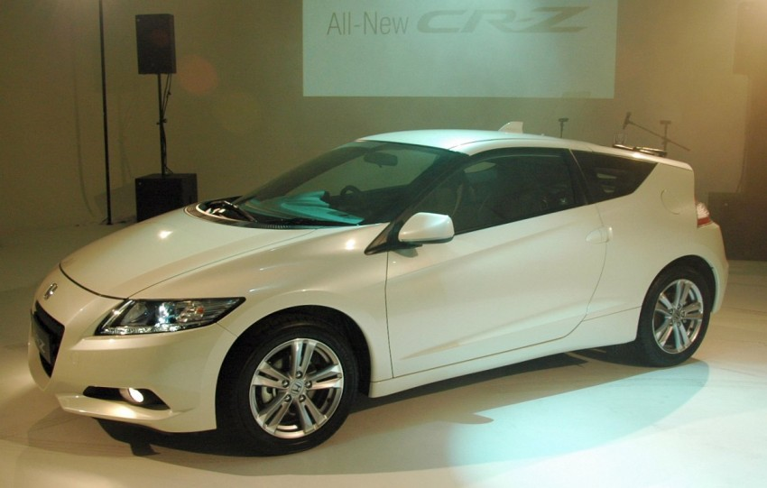 Honda CR-Z launched – RM115k OTR with insurance Image #75462