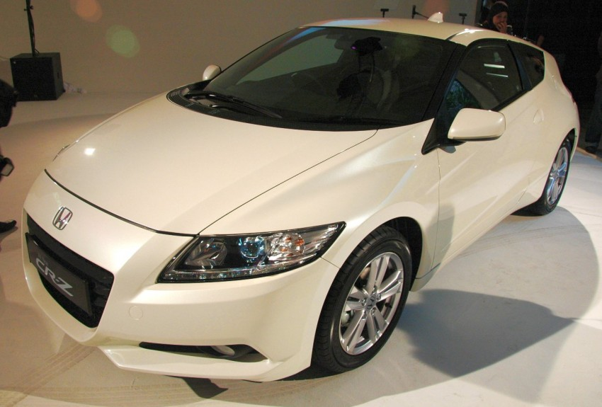 Honda CR-Z launched – RM115k OTR with insurance Image #75474