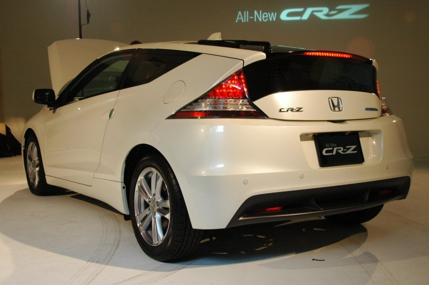 Honda CR-Z launched – RM115k OTR with insurance Image #75480