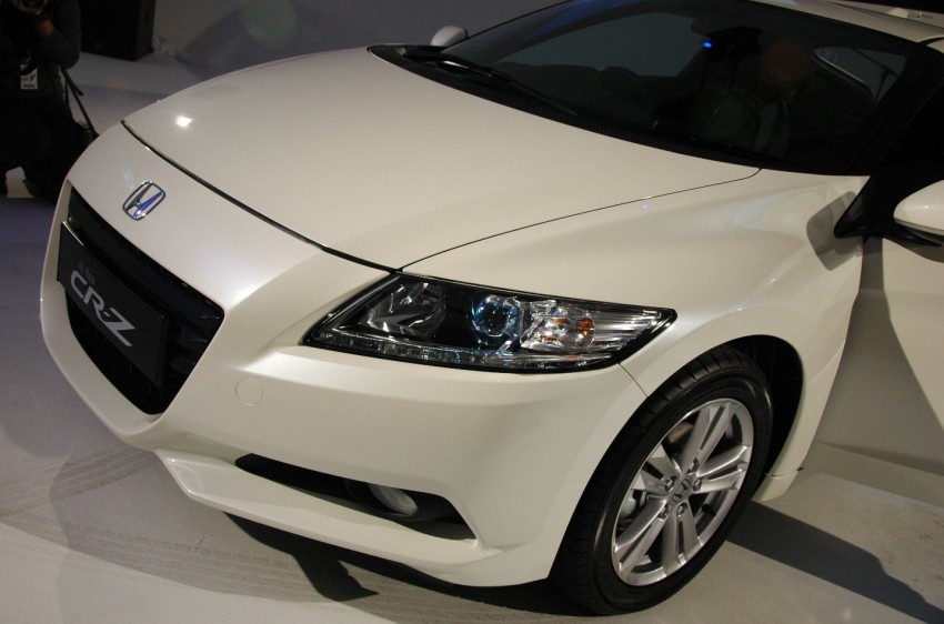 Honda CR-Z launched – RM115k OTR with insurance Image #75481