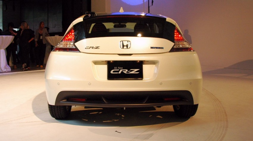 Honda CR-Z launched – RM115k OTR with insurance Image #75482