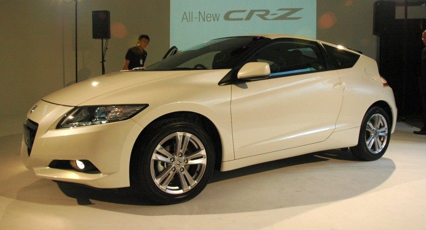 Honda CR-Z launched – RM115k OTR with insurance Image #75483