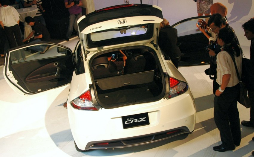 Honda CR-Z launched – RM115k OTR with insurance Image #75488