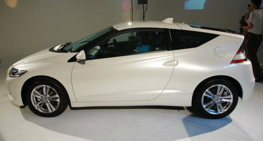 Honda CR-Z launched – RM115k OTR with insurance Image #75490