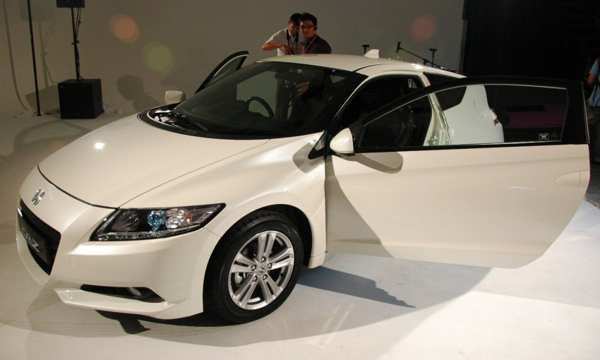 Honda CR-Z launched – RM115k OTR with insurance Image #75494