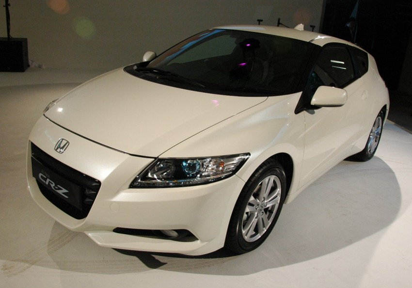 Honda CR-Z launched – RM115k OTR with insurance Image #75495