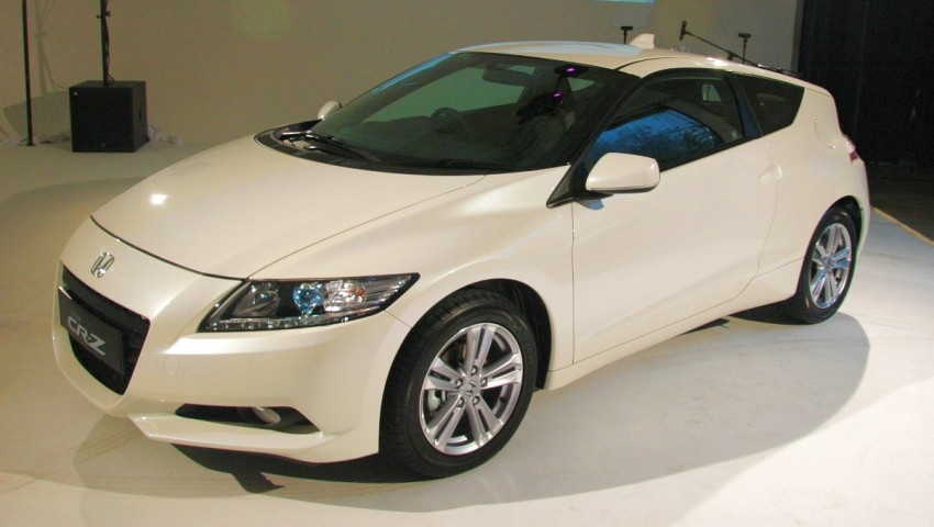 Honda CR-Z launched – RM115k OTR with insurance Image #75499