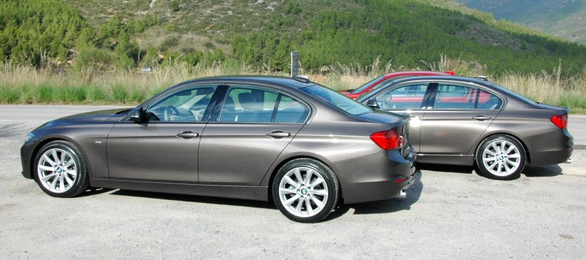DRIVEN: BMW F30 3 Series – 320d diesel and new four-cylinder turbo 328i sampled in Spain! Image #85337