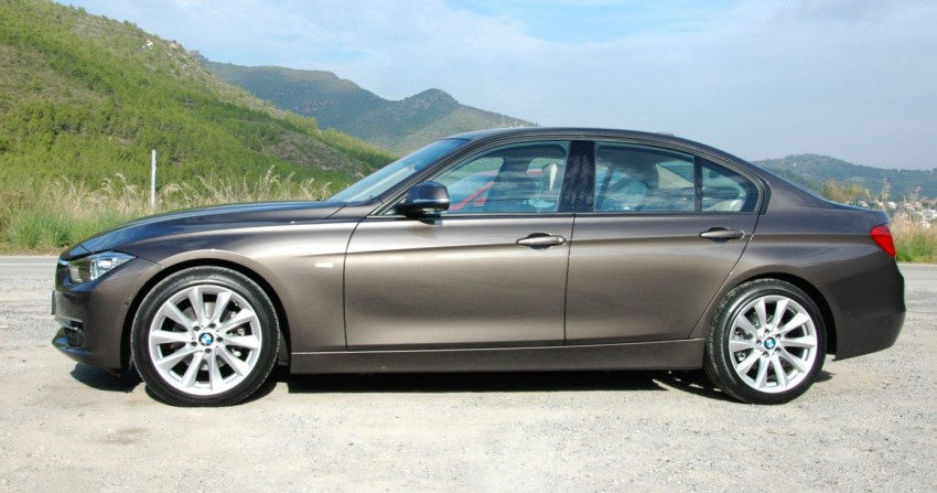 BMW F30 3-Series Test Drive Review – 320d diesel and new four cylinder turbo 328i sampled in Spain! Image #85288