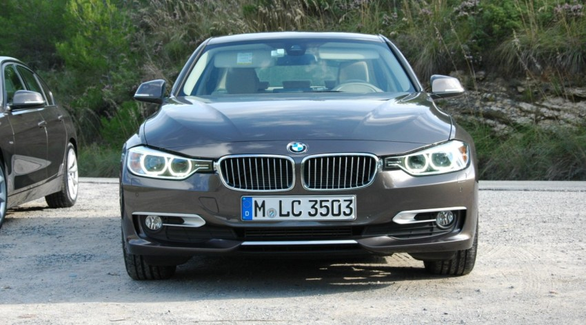 DRIVEN: BMW F30 3 Series – 320d diesel and new four-cylinder turbo 328i sampled in Spain! Image #85338