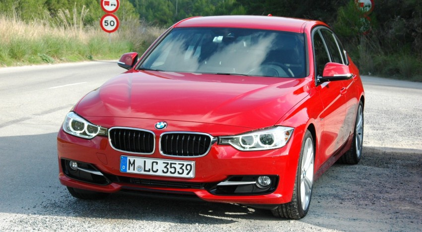DRIVEN: BMW F30 3 Series – 320d diesel and new four-cylinder turbo 328i sampled in Spain! Image #85276