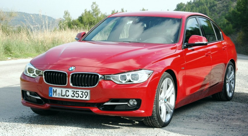 DRIVEN: BMW F30 3 Series – 320d diesel and new four-cylinder turbo 328i sampled in Spain! Image #85345