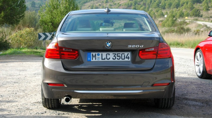 DRIVEN: BMW F30 3 Series – 320d diesel and new four-cylinder turbo 328i sampled in Spain! Image #85315