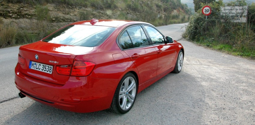 DRIVEN: BMW F30 3 Series – 320d diesel and new four-cylinder turbo 328i sampled in Spain! Image #85284