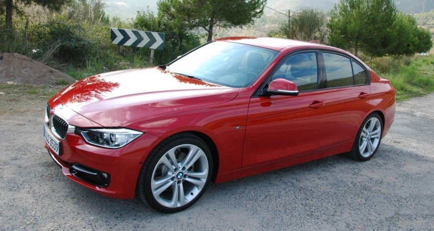 DRIVEN: BMW F30 3 Series – 320d diesel and new four-cylinder turbo 328i sampled in Spain! Image #85306