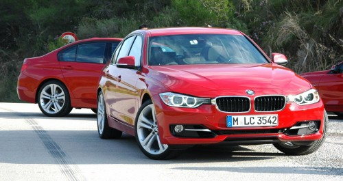 bmw f30 3 series test drive review 320d diesel and new. Black Bedroom Furniture Sets. Home Design Ideas