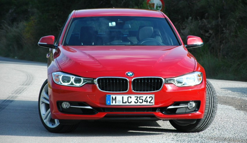 DRIVEN: BMW F30 3 Series – 320d diesel and new four-cylinder turbo 328i sampled in Spain! Image #85311