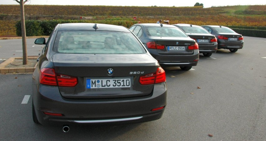 BMW F30 3-Series Test Drive Review – 320d diesel and new four cylinder turbo 328i sampled in Spain! Image #85305