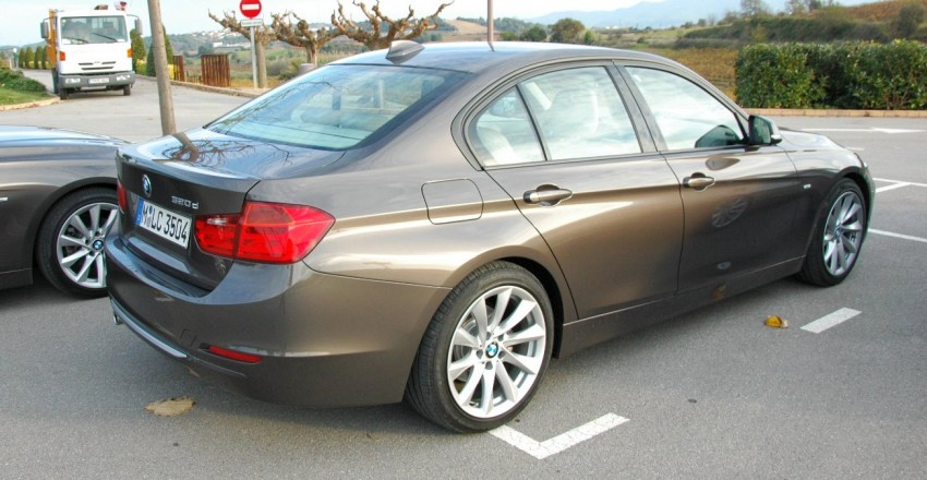 DRIVEN: BMW F30 3 Series – 320d diesel and new four-cylinder turbo 328i sampled in Spain! Image #85302