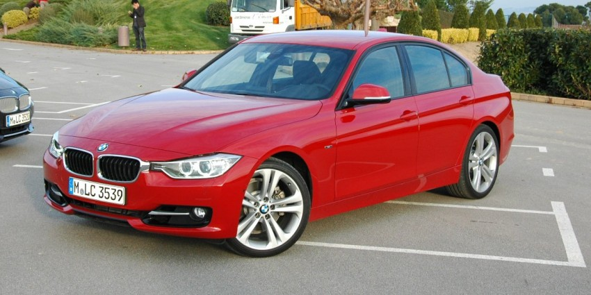 DRIVEN: BMW F30 3 Series – 320d diesel and new four-cylinder turbo 328i sampled in Spain! Image #85293